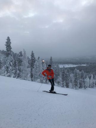 ski pose